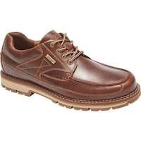 Rockport Men's Centry Moc Toe Oxford Brown Leather
