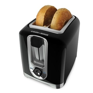 Black & Decker TR1256B 2-Slice Toaster, Black