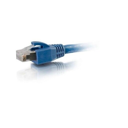 50Ft Cat6 Blue Solid Shielded