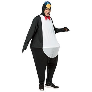 Adult Penguin Hoopster Halloween Costume - standard - one size