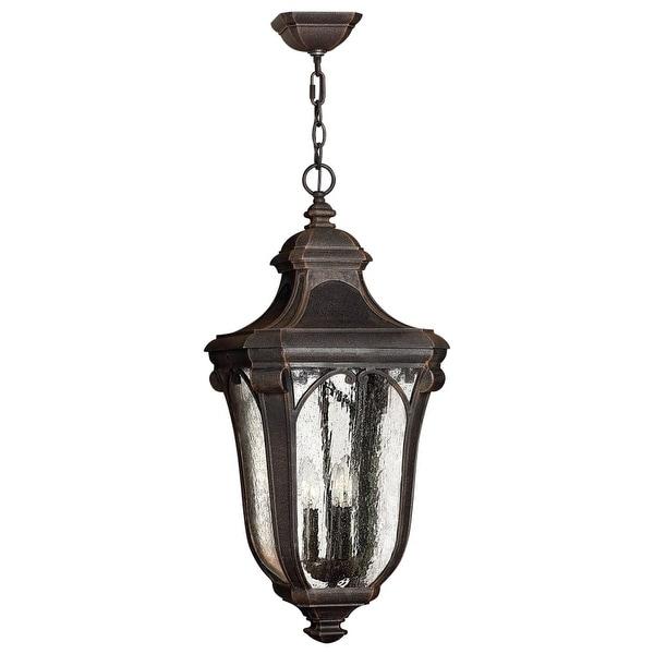 Hinkley Lighting H1312 3-Light Outdoor Lantern Pendant from the Trafalgar Collection - N/A