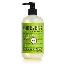Mrs Meyers Clean Day 17427 Apple Scent Liquid Hand Soap, 12.5 Oz