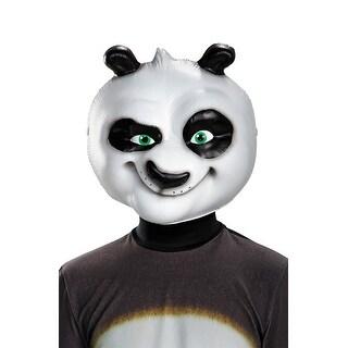 Disguise Panda-Po Child Mask - BLACK/WHITE