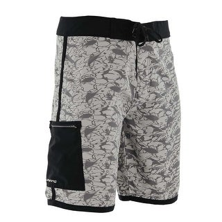 Huk Men's KC Scott Grey Kaos Size 34 Boardshort