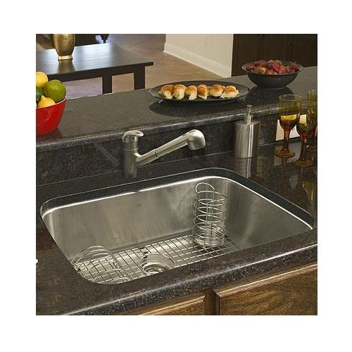 Shop Franke Large Stainless Steel Single Bowl Kitchen Sink ...