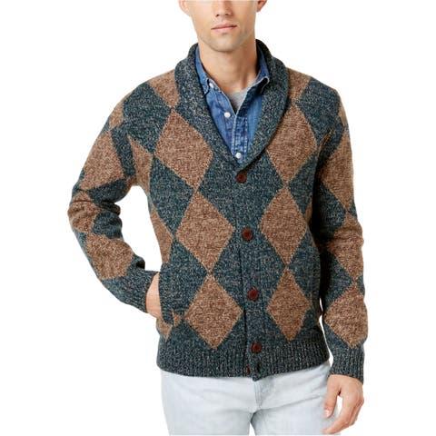 Tommy Hilfiger Mens Shamus Cardigan Sweater