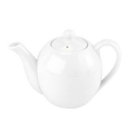 Helen's Asian Kitchen 1056/2 Round Teapot, White, 16 Oz.