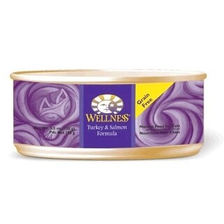 Wellness Pet Products 61122 Canned Turkey Salmon Cat Food