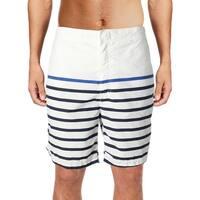 Polo Ralph Lauren Mens Striped Logo Swim Trunks - 42
