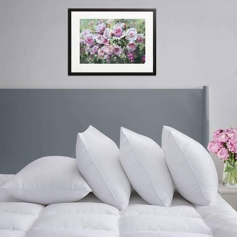 Porch & Den Jersey Hypoallergenic Down-Alternative Soft Bed Pillows (Set of 4)