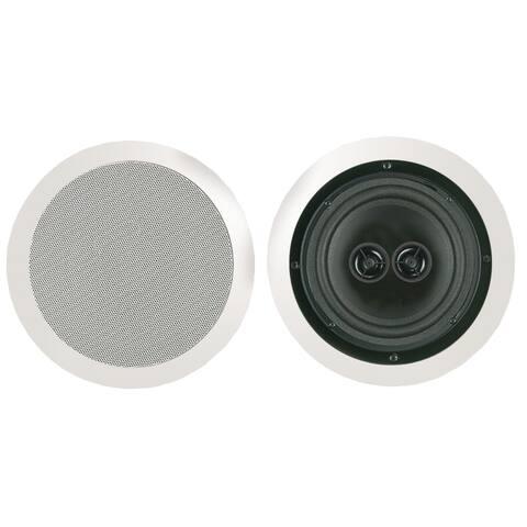"Bic America 8"" Muro Dual Voice-coil Stereo Ceiling Speaker"