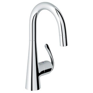 Grohe 32 283 Ladylux3 Pro High-Arc Bar Faucet with 2-Function Locking Sprayer