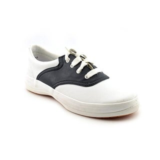 Keds School Days II Round Toe Leather Sneakers