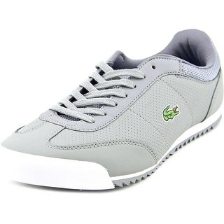Lacoste Romeau Put SPM Men Round Toe Leather Gray Sneakers