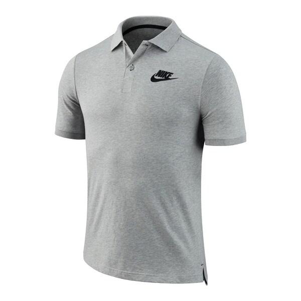 Shop Nike Mens Polo Shirt Cotton Signature - M - Ships To Canada ... 2ea8baff72ec