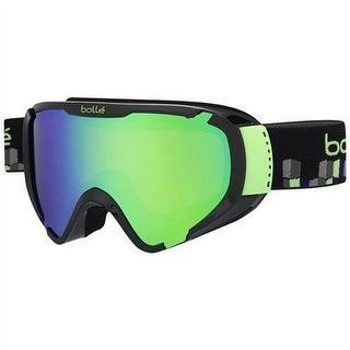 Bolle Explorer Shiny White Stripes/Vermillon Gun Lens Ski Goggle - shiny white stripes/vermillon gun