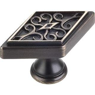 Jeffrey Alexander 561 Marvella 2-1/4 Inch Long Geometric Cabinet Knob