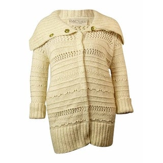 RACHEL Rachel Roy Women's Open-knit Cardigan Sweater - xL
