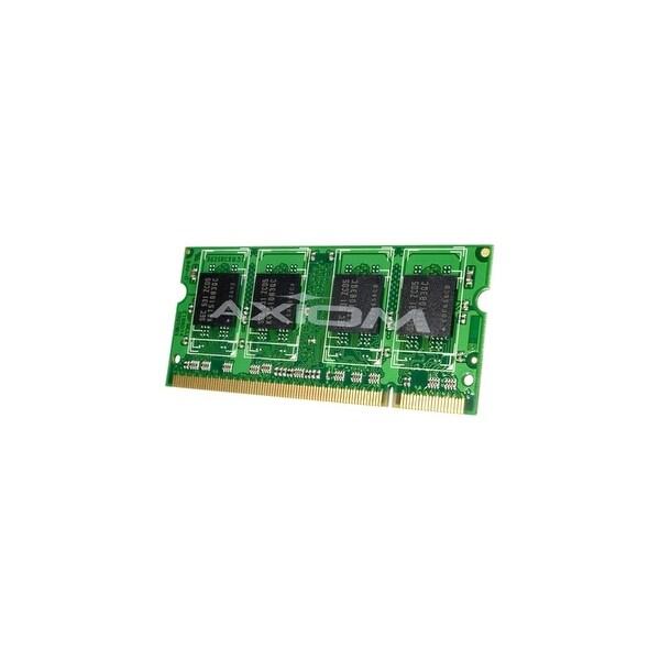 Axion MB667/4G-AX Axiom 4GB Module - 4 GB (1 x 4 GB) - DDR2 SDRAM - 667 MHz DDR2-667/PC2-5300 - Non-ECC - Unbuffered - 200-pin -