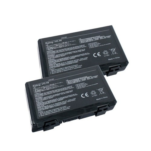 Battery for Asus A32-F52 (2-Pack) Laptop Batteries