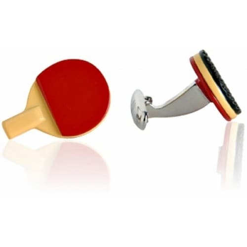 Table Tennis Paddles Cufflinks