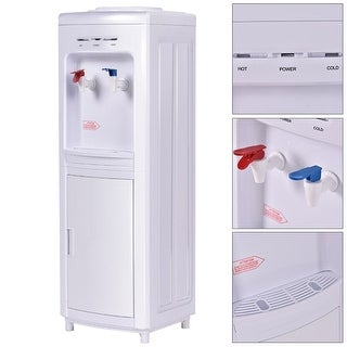 Costway Water Dispenser 5 Gallon Bottle Load Electric Primo Home