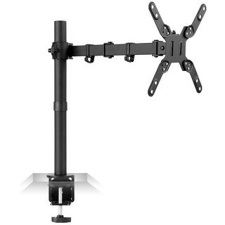 Mount-It! Large Monitor Desk Mount with VESA 200 (200x200, 200x100) Bolting Pattern, Fits up to 42 Inch Screens
