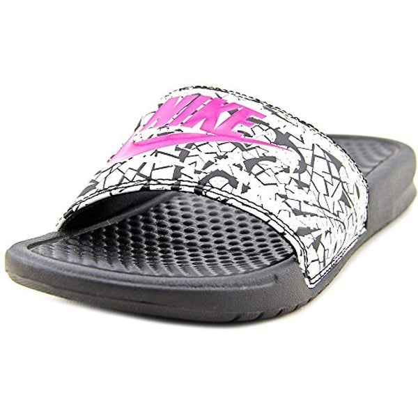 149156098118 Shop Nike Benassi Jdi Print Women Us 8 Black Slides Sandal - Free Shipping  Today - Overstock - 25629643