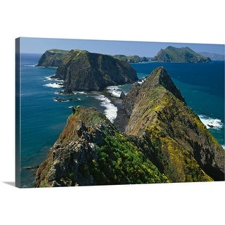 """""""Channel Islands National Park, Southern California Coast"""" Canvas Wall Art"""