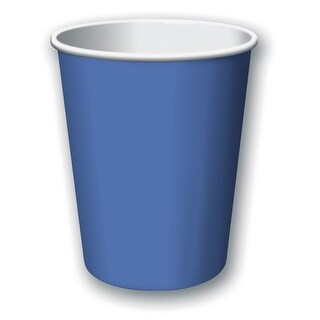 Touch Of Color 24 Count 9oz Hot/Cold Cups True Blue - Multi