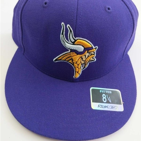 57148aedbac682 Shop Minnesota Vikings Mens Adult Size OSFA Reebok Stretch Fit Hat $22 - On  Sale - Free Shipping On Orders Over $45 - Overstock - 23069311
