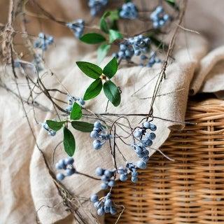 "RusticReach Artificial Wild Blueberry Hanging Vine 43"" Long"
