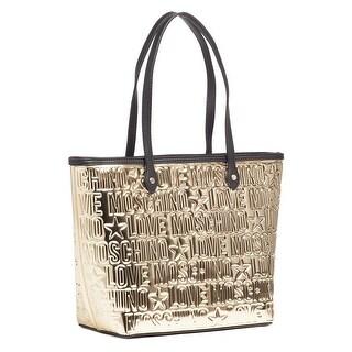 Moschino JC4171 0901 Gold Shopper/Tote - 14-12-6