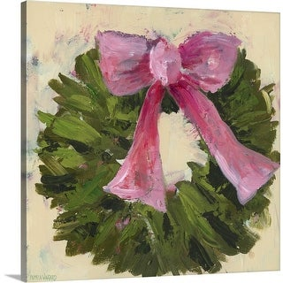 """Wreath I"" Canvas Wall Art"