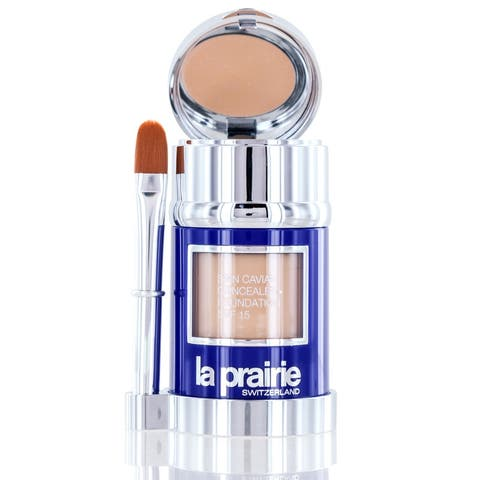 La Prairie Skin Caviar Concealer Foundation Spf 15 Pure Ivory 1.0 Oz With Brush - pure ivory