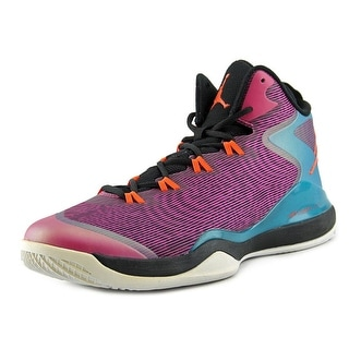 Nike Jordan Super.Fly 3 Men Round Toe Canvas Pink Sneakers