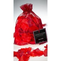 Bed Of Roses Rose Petals, Valentine's Day Rose Petals - Red - One Size Fits Most