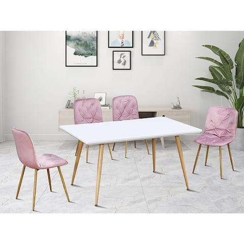 Modern Style 4Pcs Dinning Chair Living Room Chair Sets