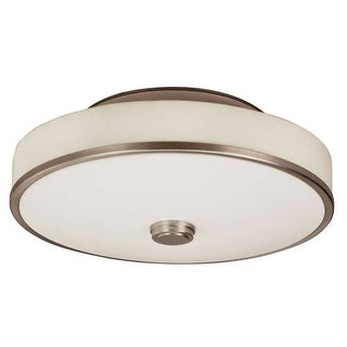 """AFX SHC155MVT-LA 1 Light 22"""" Wide Semi Flush Ceiling Fixture from the Sheridan Collection"""