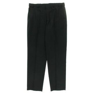 Van Heusen Mens Flat Front Extender Waist Dress Pants - 38/36