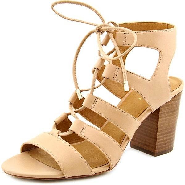 Coach Larissa Women Open Toe Leather Sandals