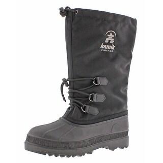 Kamik Canuck Men's Nylon Waterproof Snow Boots