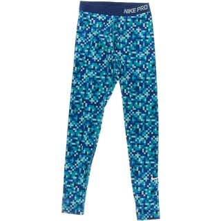 Nike Womens Stretch Printed Athletic Pants