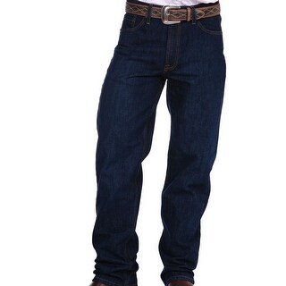 Stetson Western Denim Jeans Mens 1520 Fit Dark
