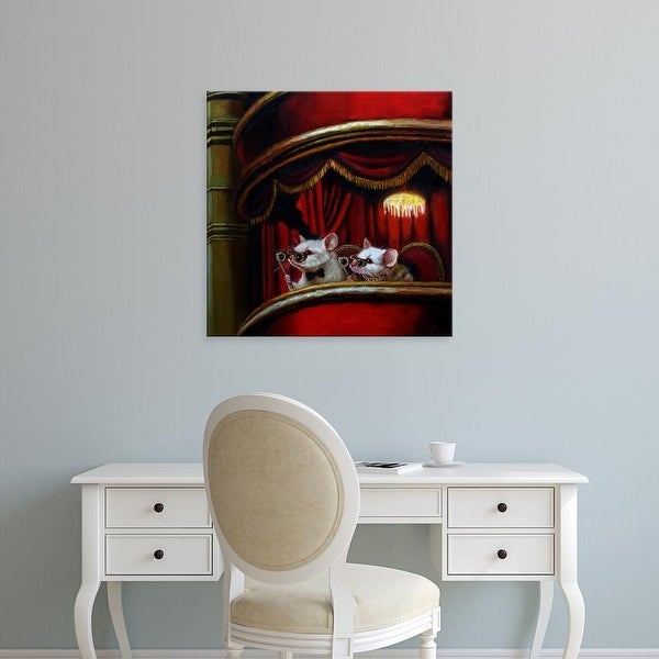 Easy Art Prints Lucia Heffernan's 'Die Fledermaus' Premium Canvas Art