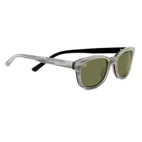 Serengeti Eyewear Sunglasses Serena 7778 Creme Stripe Black Polar 555nm Lens