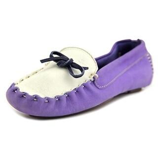 Swamp Mosaique1 Women Leather Purple Moccasins