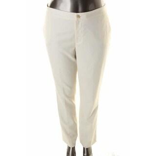 Ralph Lauren Womens Edita Wool Slimming Fit Dress Pants - 10