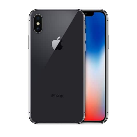 Apple iPhone X 64GB Space Gray Fully Unlocked (Refurbished) - Space Gray