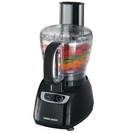 Black & Decker FP1700B Food Processor, 8-Cup, Black
